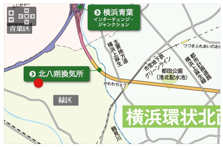 横浜環状北西線でアクセスアップのみどりスタジオ?
